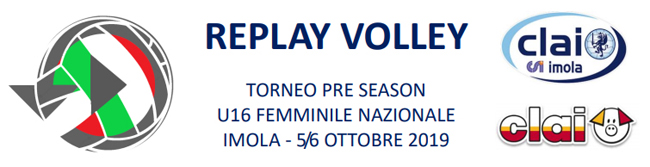 REPLAY VOLLEY 2019