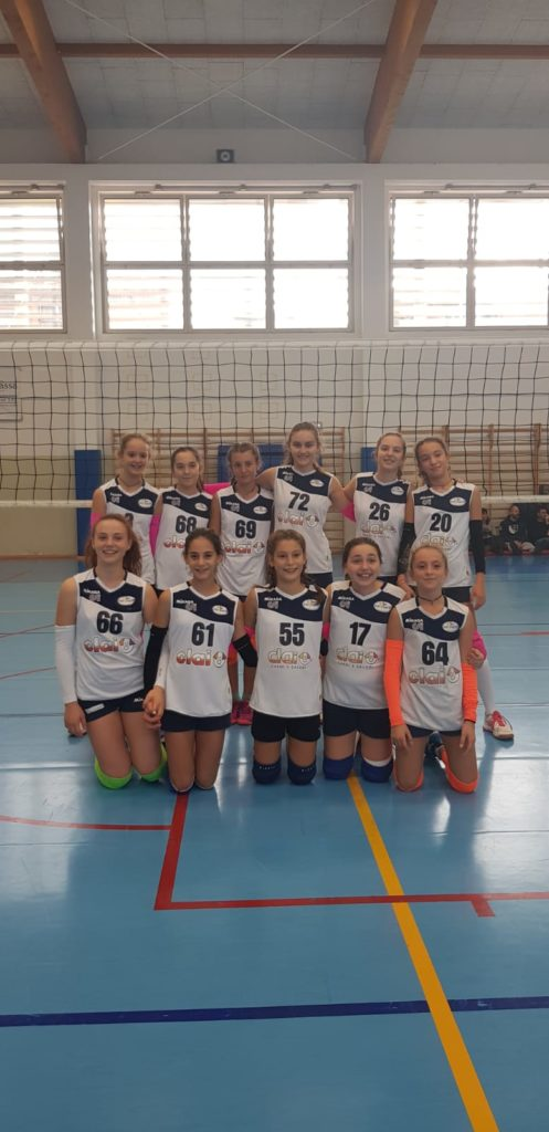 Young Volley U13: Vittoria e due punti per Clai
