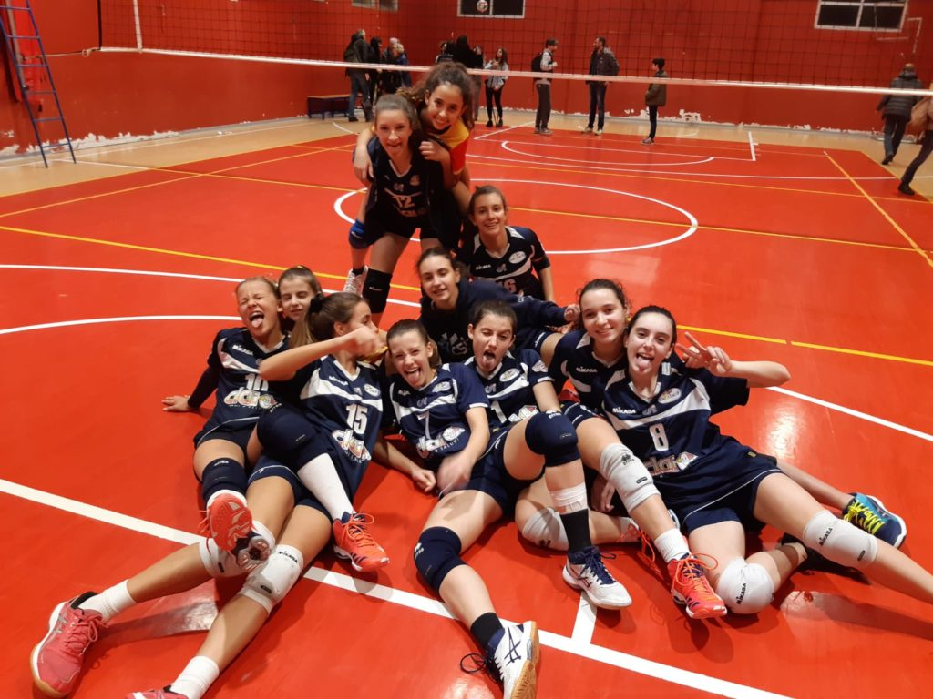Under 16B: Clai Morsiani - Granarolo Volley 3-2