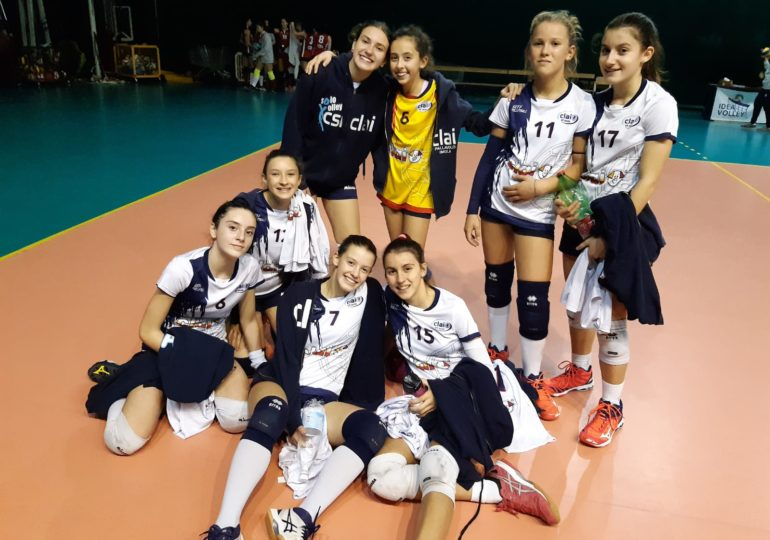 Under 14: Volley Team Bologna - Clai Morsiani 3-1