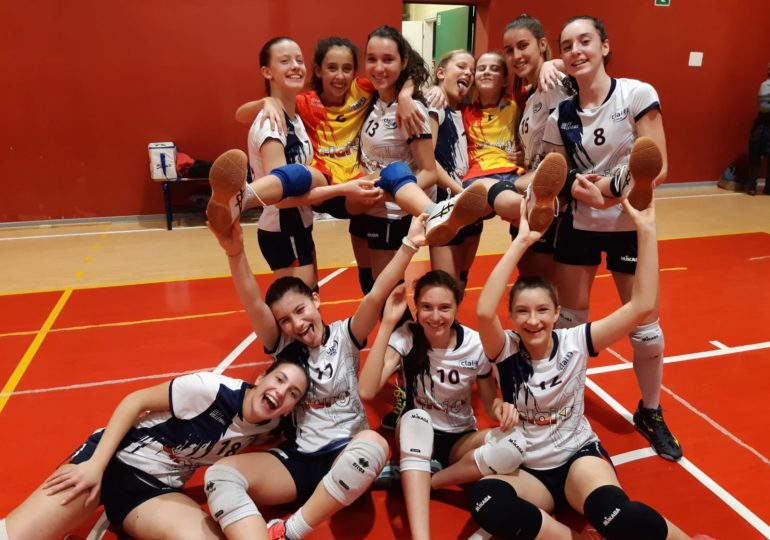 Under 14: Clai Morsiani - Castenaso Volley 3-0