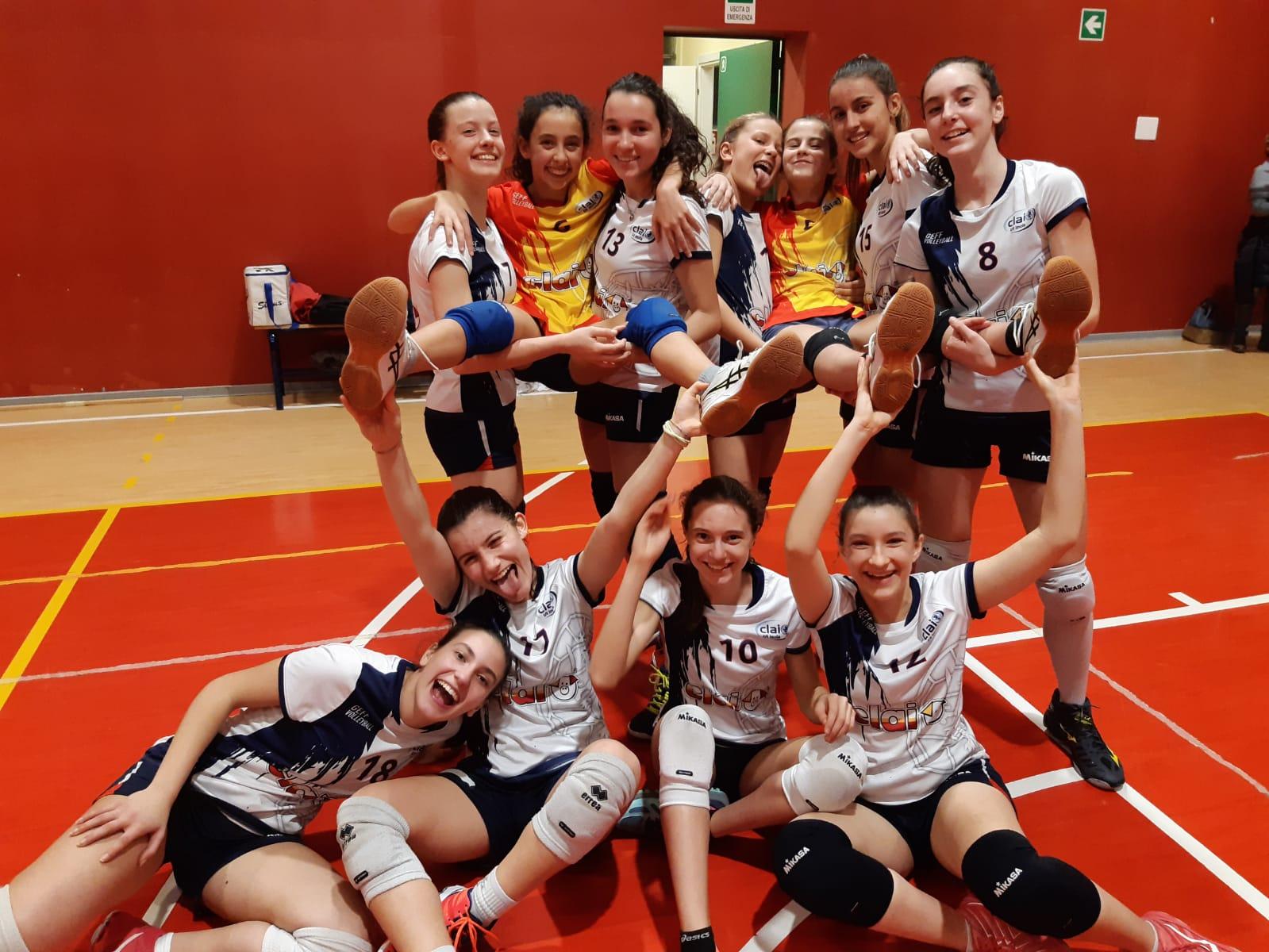 Under 14: Clai Morsiani - Castenaso Volley 3-0