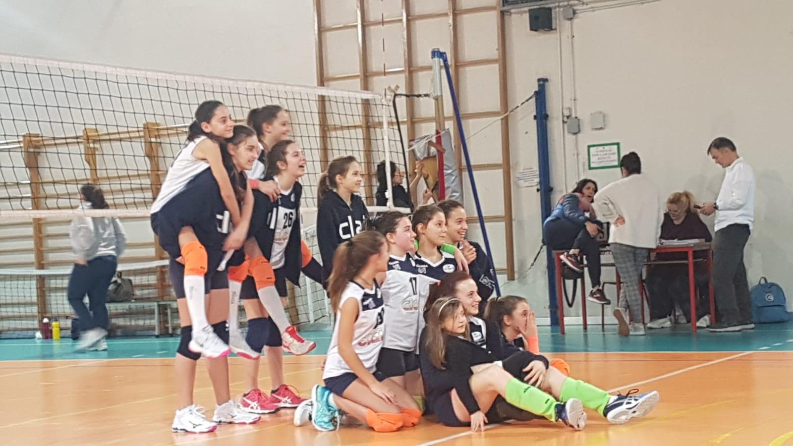Under 13: Masi Volley - Clai Vitaldent 3-0
