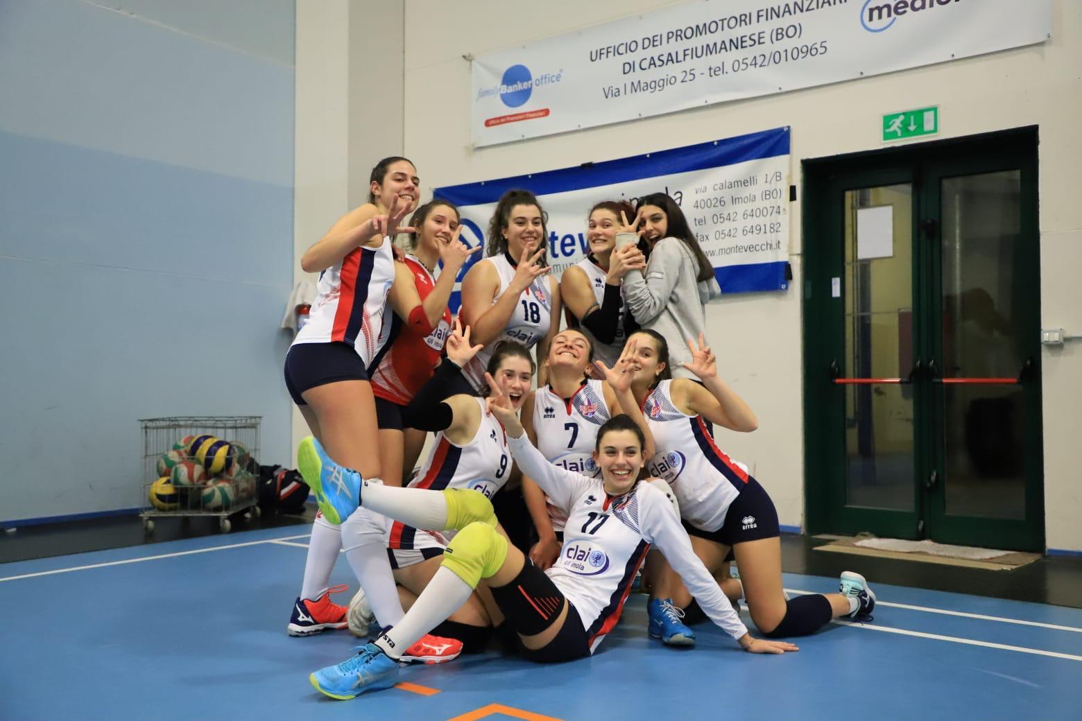 Vtb Clai - Volley Academy Modena 3-0
