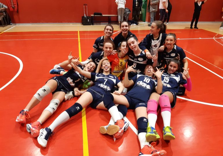 Under 16: Clai Morsiani - Calderara Volavolley B 3-2