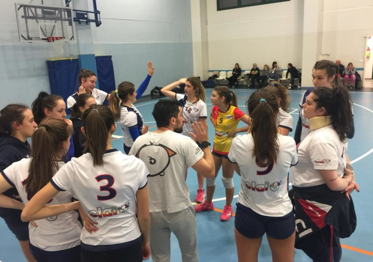 Seconda Div: Csi Clai Imola - Volley Pianura 2-3