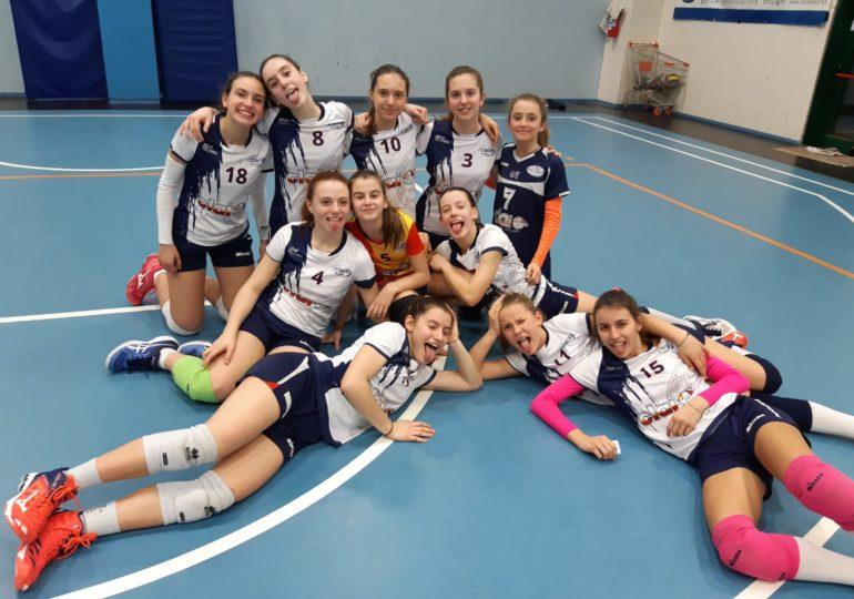 Under 14: Clai Morsiani - Idea Volley Blu A 3-1