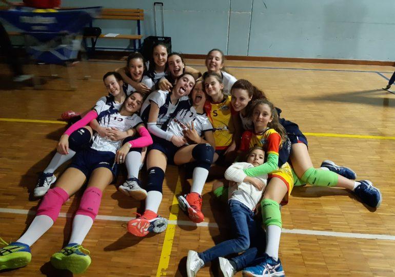 Under 14: Calderara Volavolley - Clai Morsiani 2-3