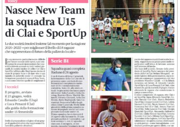 Nasce New Team la squadra Under 15 di Clai e SportUp