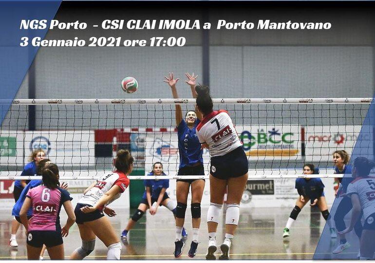 Domani diretta streaming Clai - Porto Mantovano