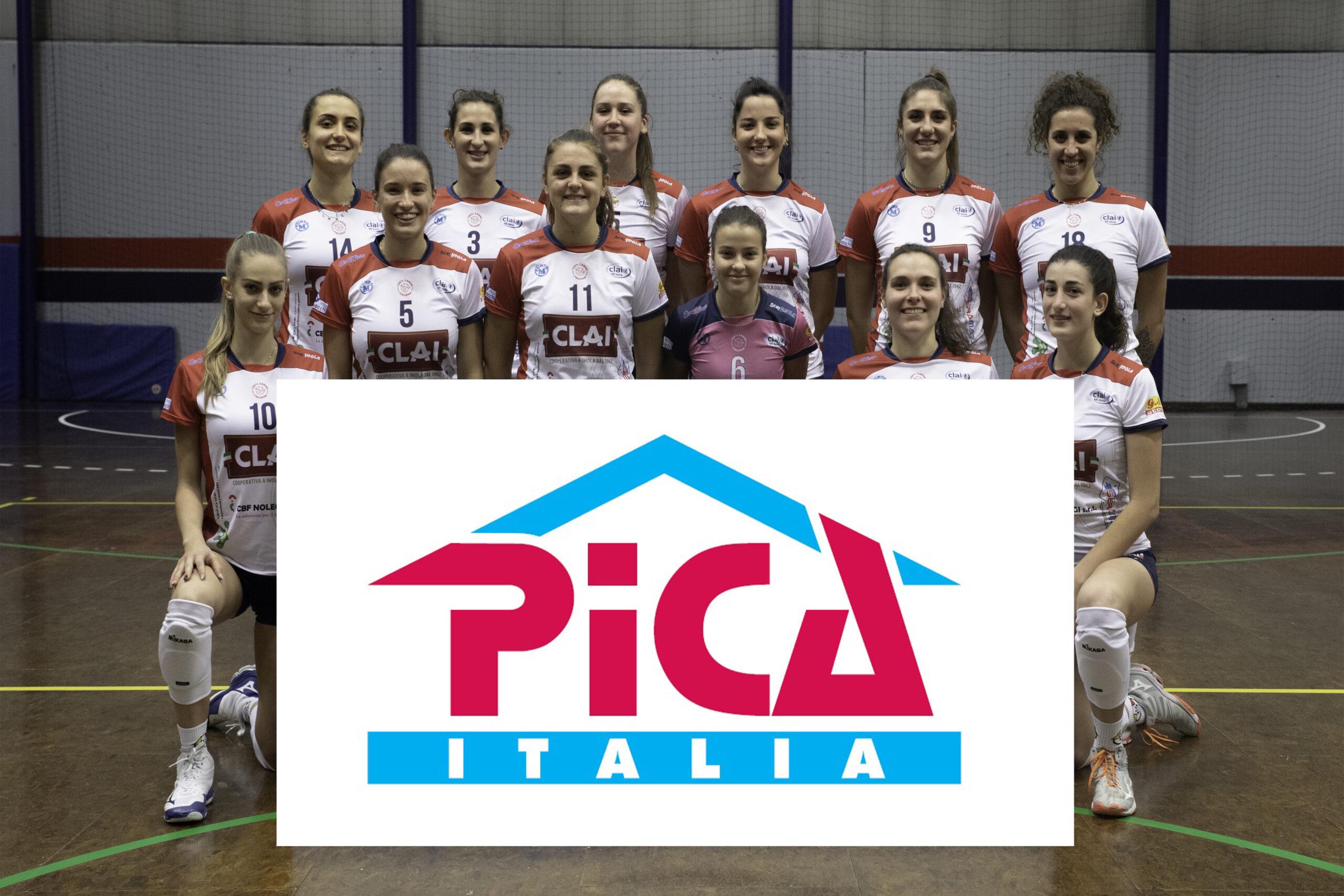 Con PICA ITALIA parte un nuovo rapporto di sponsorizzazione