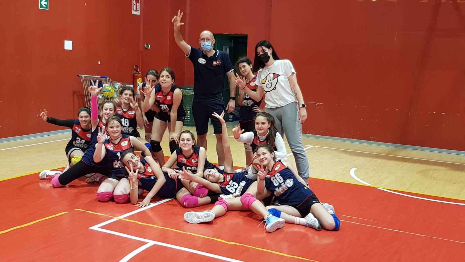 Vincono bene New Team in Under 15 e Csi Clai B in Under 13