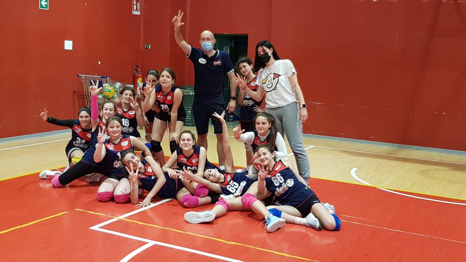 Vincono bene New Team in Under 15 e Csi Clai B in Under 13