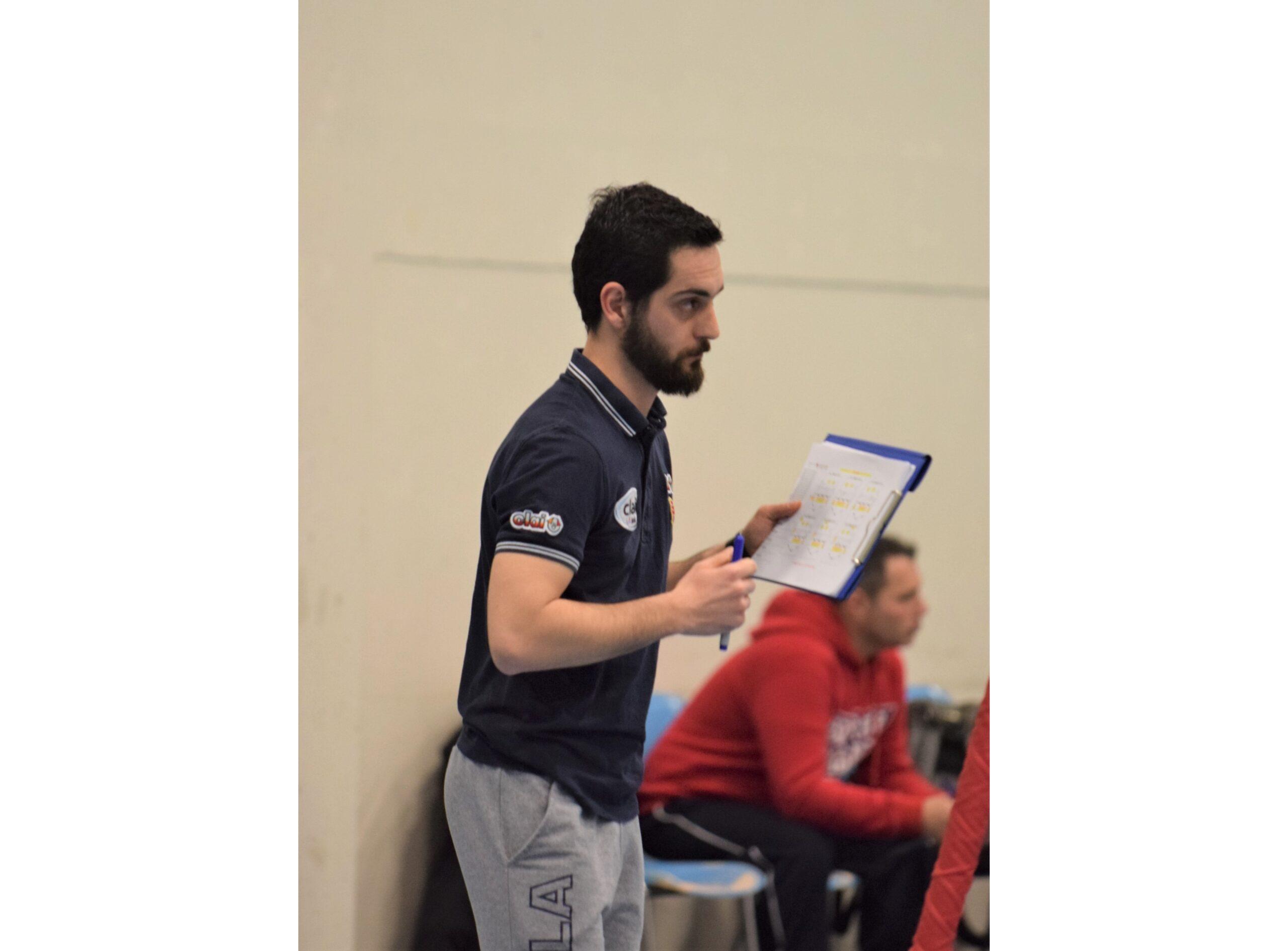 Riccardo Santini, assistente di Ghiselli in Prima Squadra