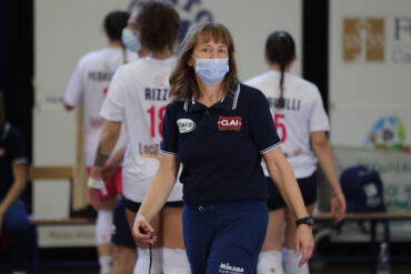 Monica Risaliti, preparatrice atletica di tutte le ragazze in Clai